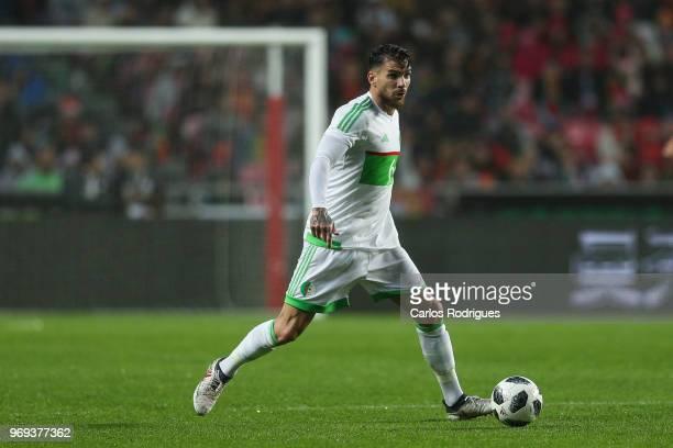 Algeria and Sivasspor defender Carl Medjani during Portugal vs Algeria International Friendly match at Estadio da Luz on June 7 2018 in Lisbon...