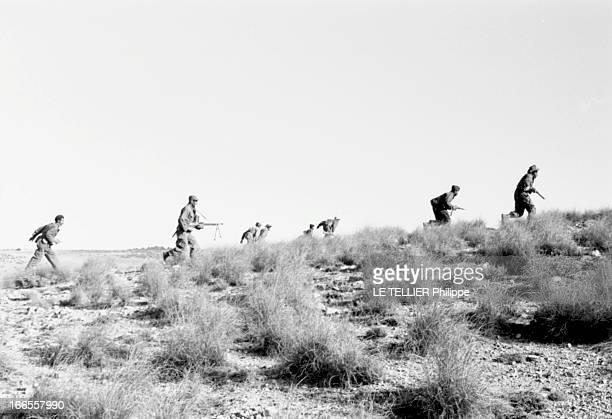 General Bellounis Joined The French Army Algérie décembre 1957 opération de ratissage francobellouniste contre les rebelles du FLN Le général...