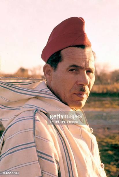 General Bellounis Joined The French Army Guerre d'Algérie DarChioukh décembre 1957 portrait du général Mohamed BELLOUNIS Le général BELLOUNIS...