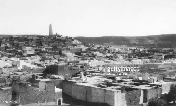 Algeria, Ghardaia, general view Photographer; Dr. J. Von Heimburg