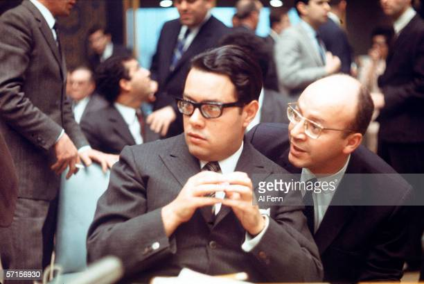 Algerian Ambassador to the United nations Tewfik Bouattoura listens during a UN Security Council meeting addressing the international inicdent...