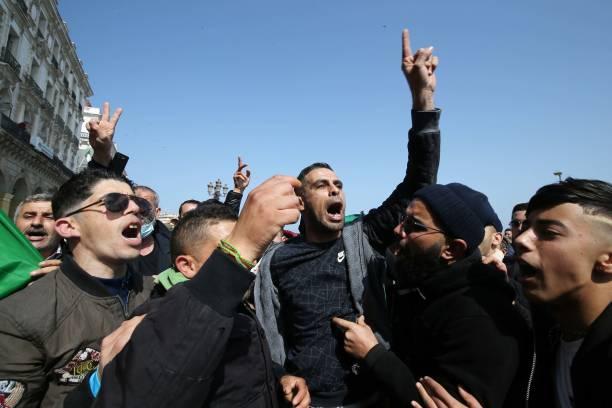DZA: Anti-government Protest In Algiers