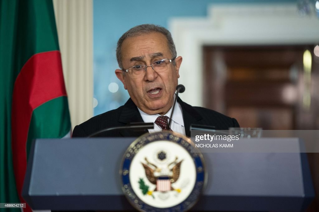 US-ALGERIA-DIPLOMACY : News Photo