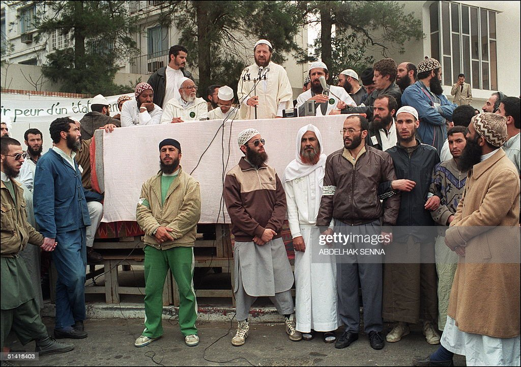 Algerian founders of the Islamic Salvation Front ( : News Photo