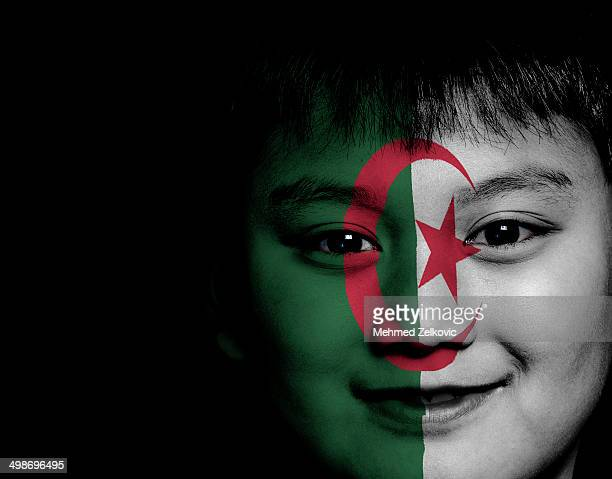 Algerian kid ready for Soccer World
