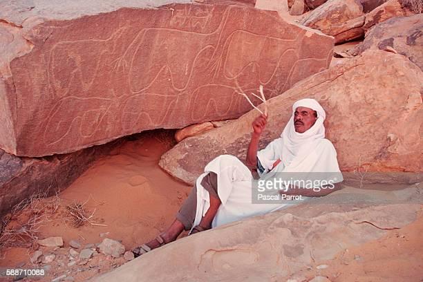 Algerian Marabout in the Desert
