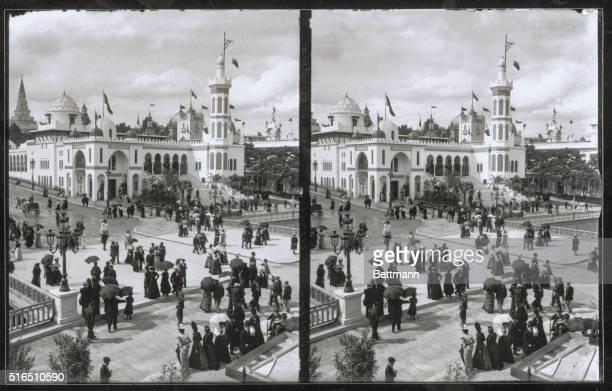 Algerian Palace Gardens of Trocadero