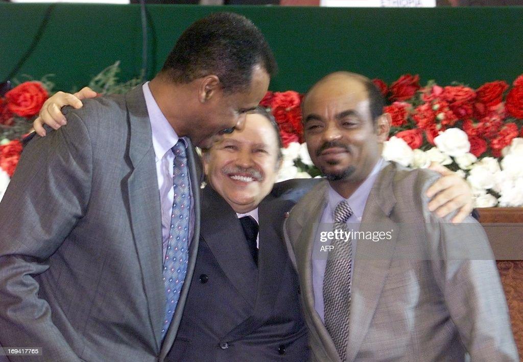 ALGERIA-ETHIOPIA-ERITREA-PEACE : News Photo