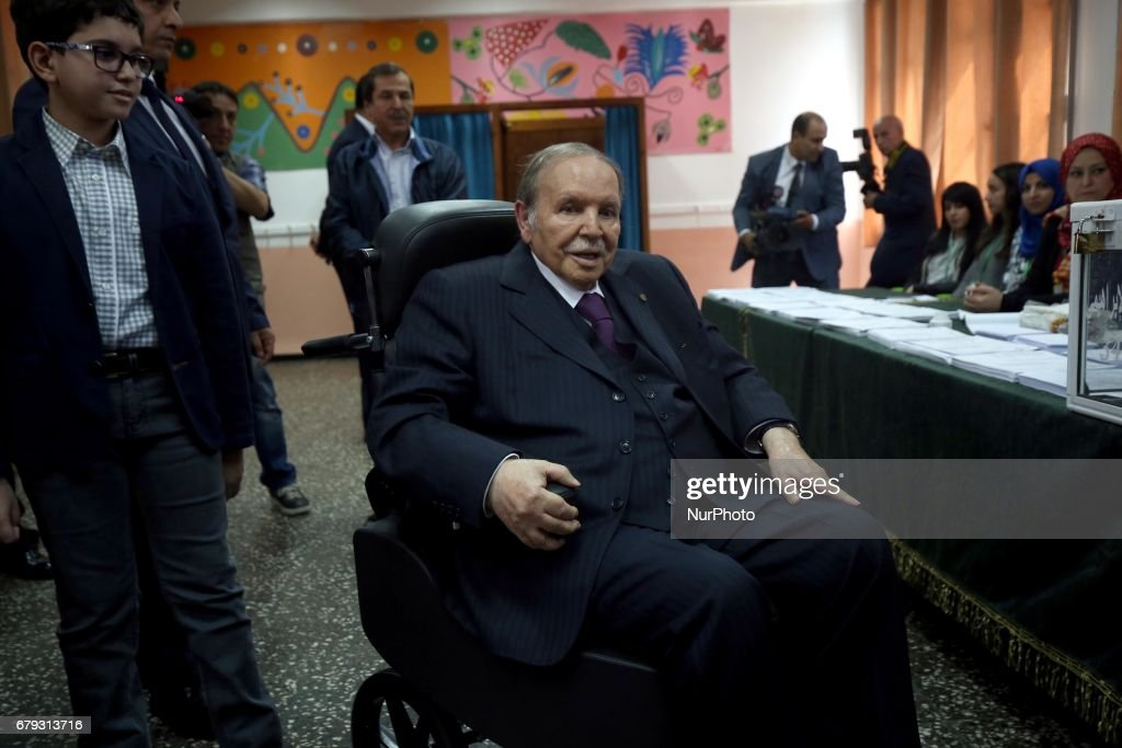 2017 parliamentary elections in Algeria : News Photo