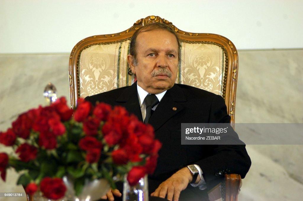 Algerian President Abdelaziz Bouteflika : Photo d'actualité