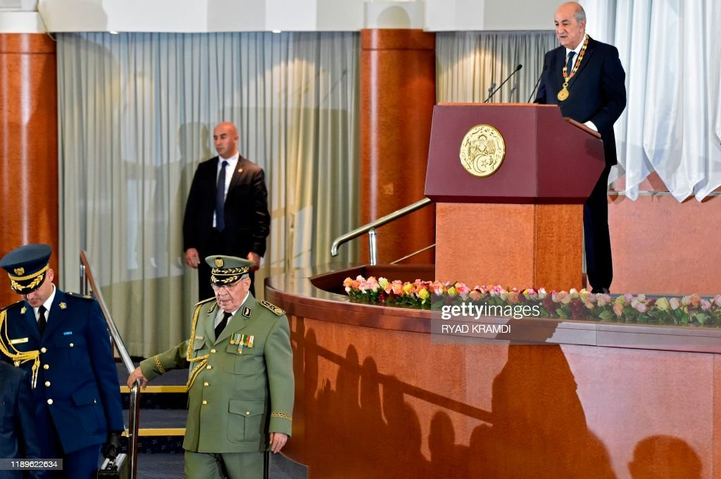 ALGERIA-POLITICS : News Photo