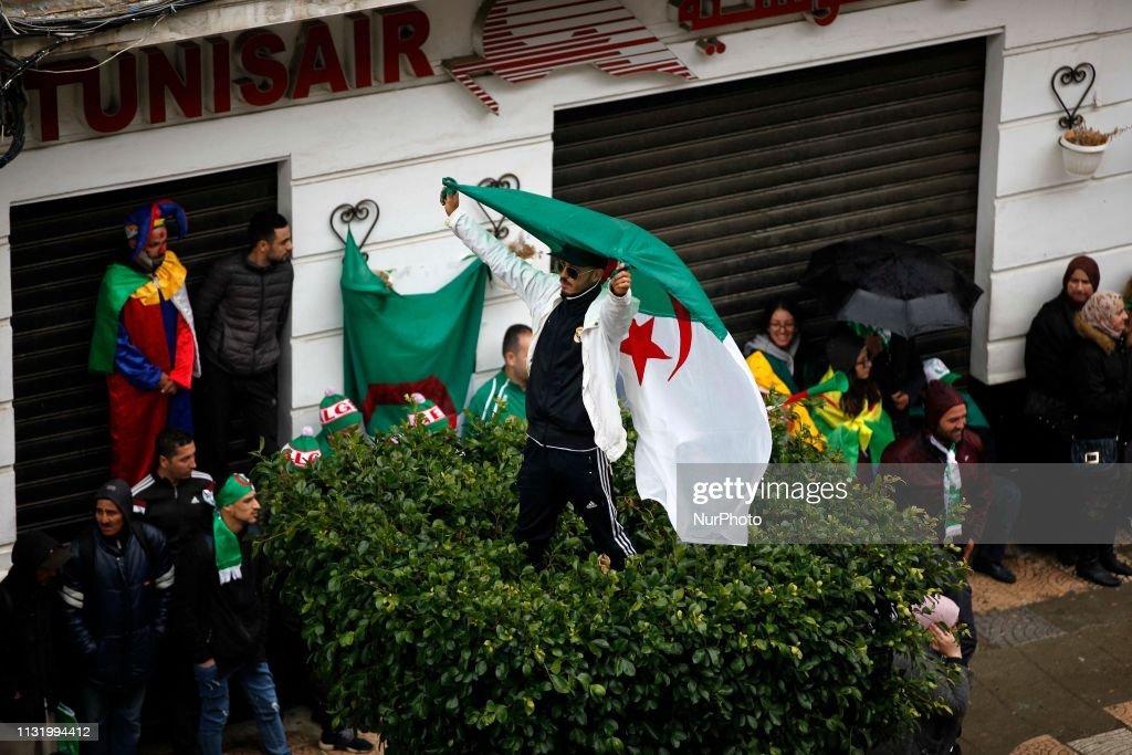 DZA: Demonstration For The Fifth Consecutive Friday Against Abdelaziz Bouteflika