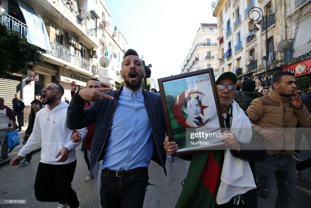 DZA: Protest In Algiers