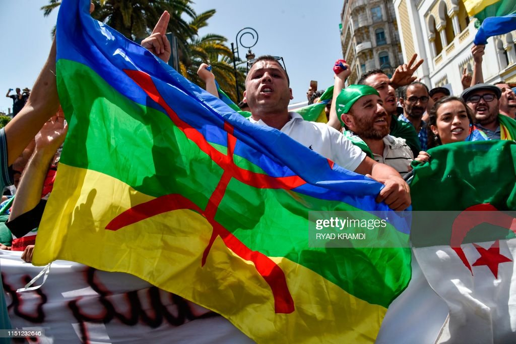ALGERIA-POLITICS-DEMO-UNREST : Foto di attualità