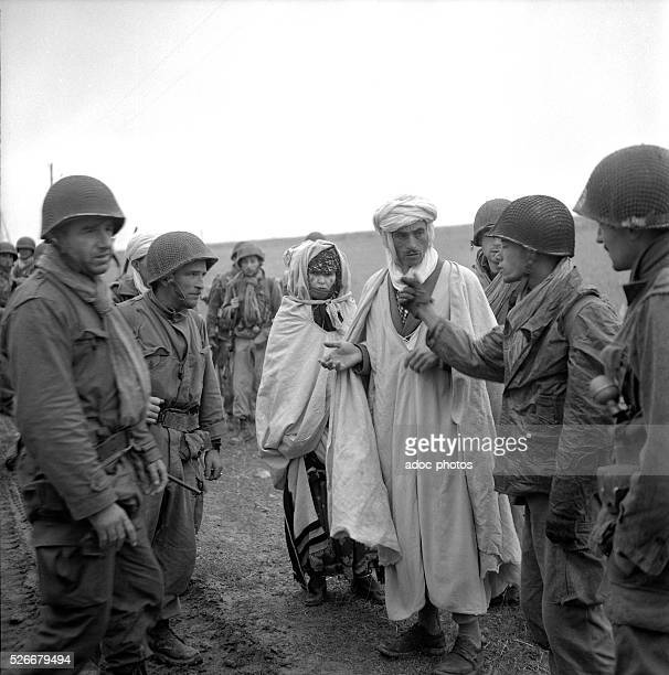 Algerian War French soldiers in the Aur��s mountains In 1954