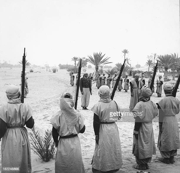 Algerian War of Independence At the Remada bordj Instruction of young recruits in the South of Tunisia They will be incorporated into the French Army...