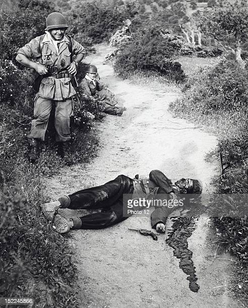 Algerian War of Independence Soldier who died during the Karmouche operations in Great Kabylia May 1956
