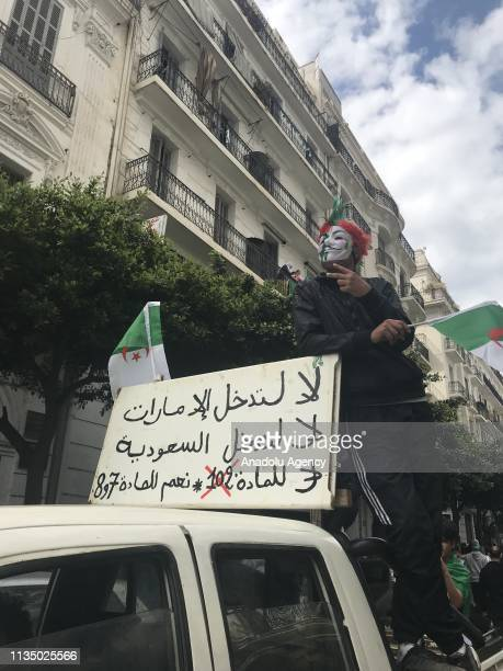 Algerians continue to stage demonstrations despite this weeks resignation of President Abdelaziz Bouteflika with protesters demanding the departure...