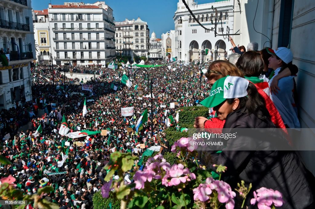 ALGERIA-POLITICS-DEMO : News Photo
