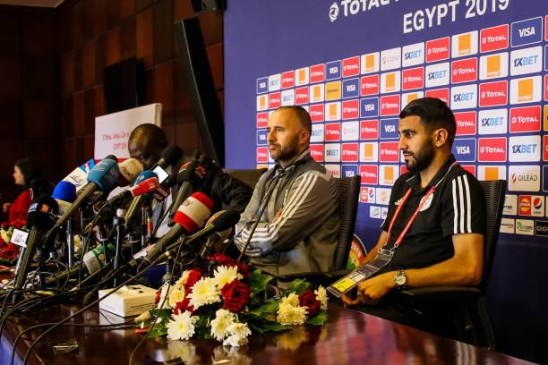 EGY: Algeria v Kenya:Group C - 2019 Africa Cup of Nations