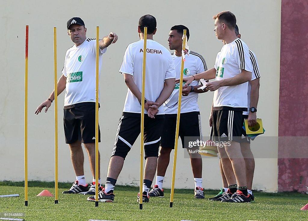 Algeria Training Session