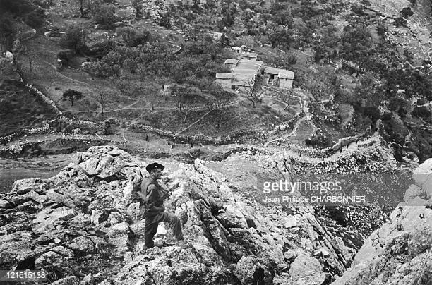 Algerie Patrouille Dans Les Montagnes De Kabylie 19570000 Algerie Patrouille Dans Les Montagnes De Kabylie 19570000