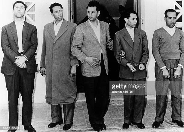Algerien Algerienkrieg Unabhängigkeitskrieg In einem 'Handstreich'Unternehmen des Geheimdienstes fielen fünf politische Führer der algerischen FLN in...