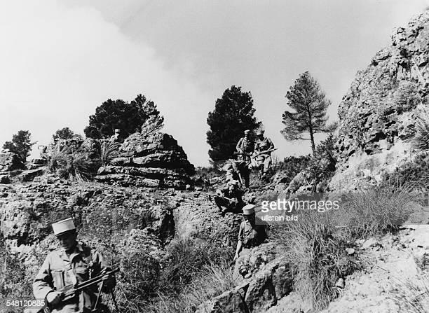 Patrouille der Fremdenlegion im Tell Atlas 1961