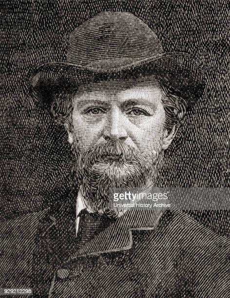 Algernon Charles Swinburne 1837 – 1909 English poet playwright novelist and critic From The Century Edition of Cassell's History of England published...