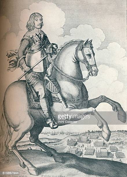 'Algernon Percy 10th Earl of Northumberland' 1640 From The Connoisseur Volume LXXX [The Connoisseur Ltd London 1928] Artist Wenceslaus Hollar