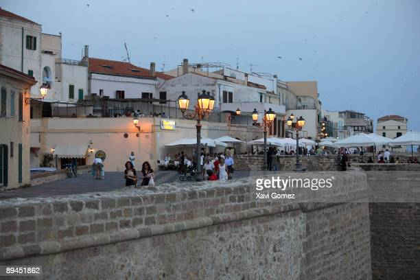 Alghero Sardinia Bastione Pigafetta Located on the northwest coast of Sardinia Alghero has become a major holiday destination in recent years and yet...