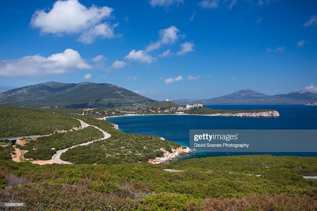 Alghero scenery : Foto stock