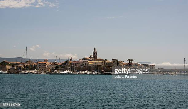 Alghero view from the sea