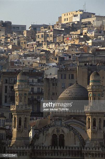 Algiers after the victory of FIS at general election in Algiers Algeria in January 1992 The casbah