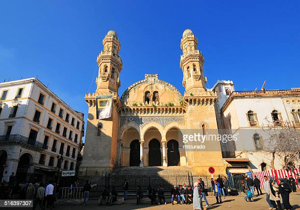 algiers, algeria: ketchaoua mosque - algiers algeria stock pictures, royalty-free photos & images