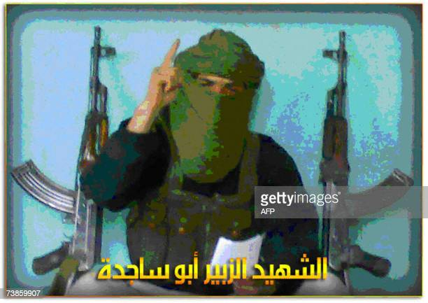 This picture posted on the internet by alhesbahorg 11 April 2007 alledgedly shows one of the suicide bombers responsible for toady's attacks in the...
