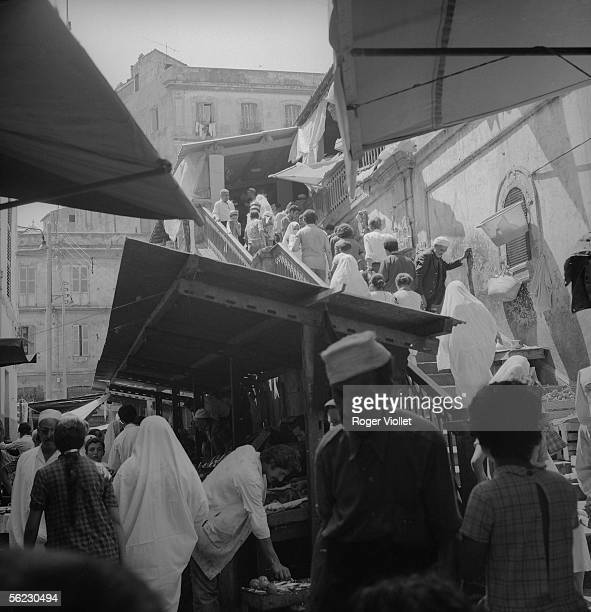 Algiers Crowd in a street of the Casbah August 1973 RV880898