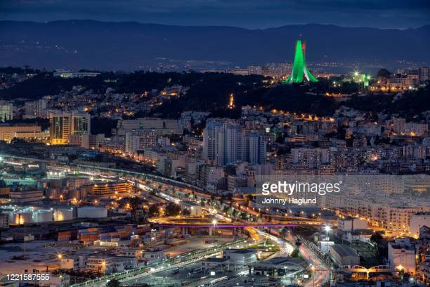 algiers in the early evening - アルジェー ストックフォトと画像