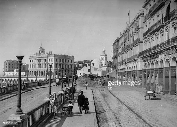 Algiers The Boulevard de la Republique About 1900 ND 283