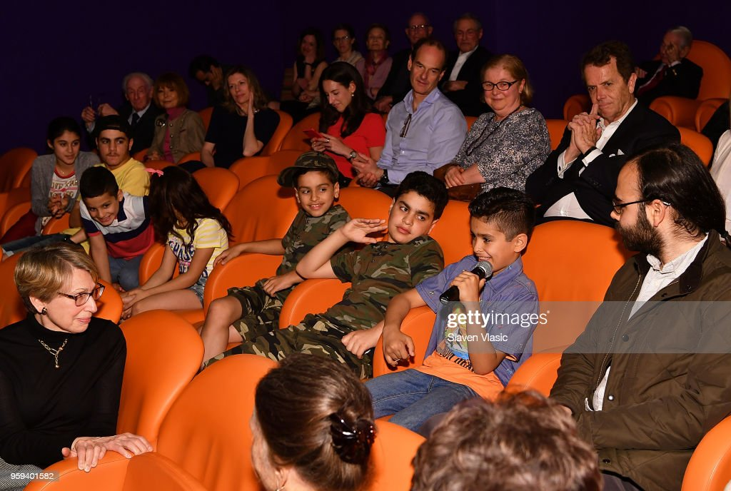 Alhalabi family attend panel discussion for 'This is Home: A Refugee Story' - New York Premier Screening at Crosby Street Hotel on May 16, 2018 in New York City.