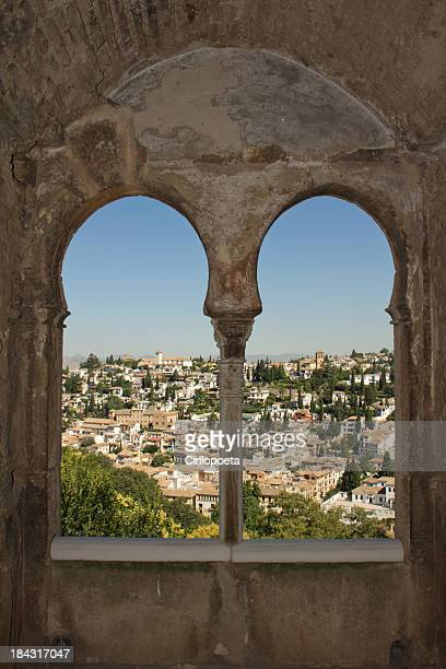 alhambra and granada - alhambra spain stock pictures, royalty-free photos & images