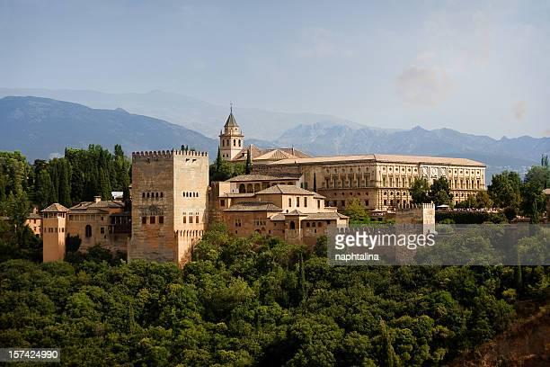 Alhambra vue sur le château