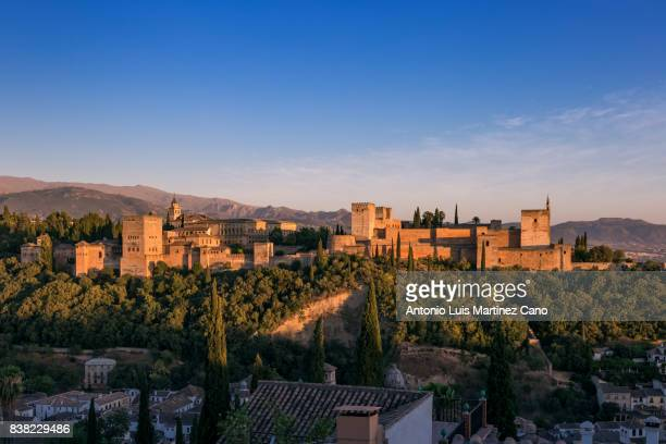 Alhambra from the Albaicin
