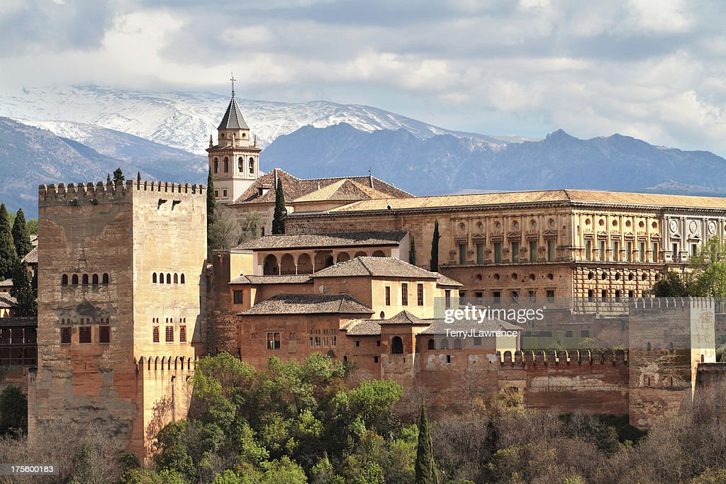 Alhambra Granada Spain Stock Photo | Getty Images