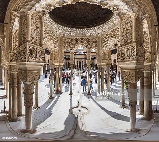 Alhambra of granada Spain