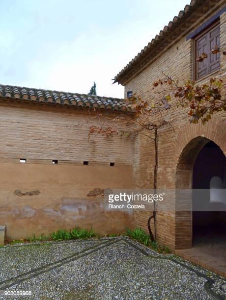 Alhambra palace in Granada Spain