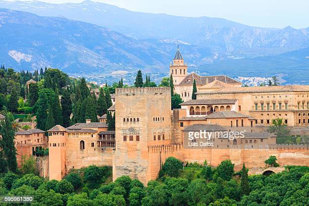 alhambra palace - alhambra spain stock pictures, royalty-free photos & images