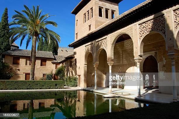 alhambra - palácio - fotografias e filmes do acervo
