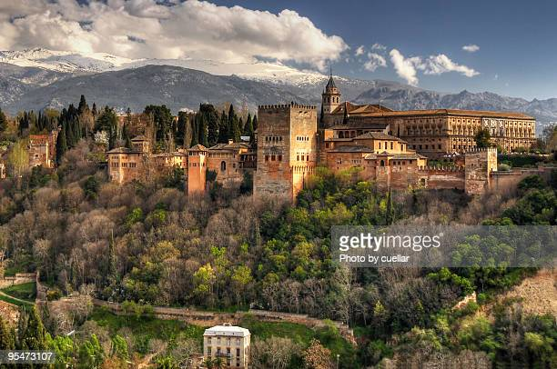 alhambra - granada province stock pictures, royalty-free photos & images