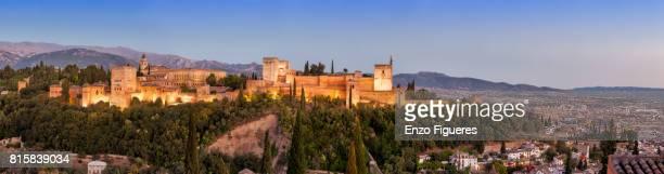 Alhambra viewed from Mirador de San Nicolas